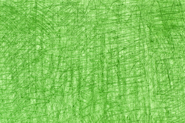 green crayon drawings on white background texture