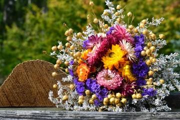Blumengruß mit Textfreiraum