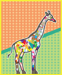 Unique Giraffe