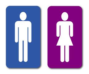 Logo toilettes.