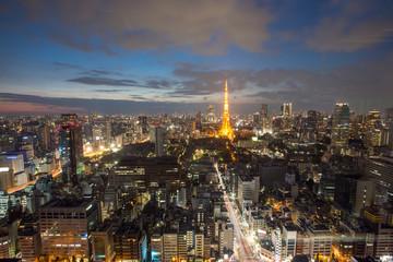 TOKYO - October 11: Tokyo Tower on October 11, 2013 in Tokyo. It
