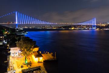 Bosphorus bridge (New name: 15 July martyrs), Istanbul, Turkey