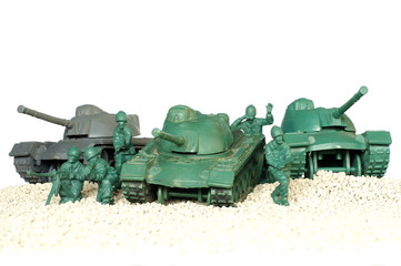 tank battle toy plastic 3