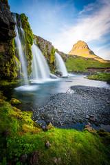 Kirkjufell Mountain, Iceland, Snaefellsnes peninsula landscape