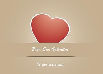 Stampa Biglietto Auguri Buon San Valentino