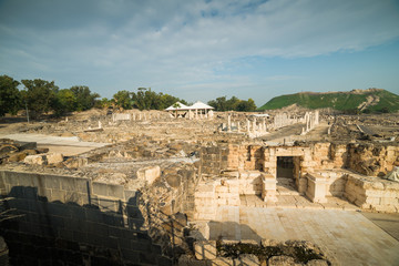 View from Beit She'an theater