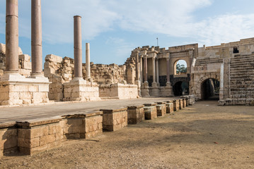 Beit She'an theater's stage