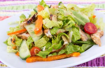 roasted chicken california salad