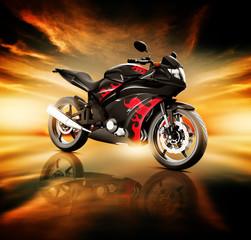 Motorcycle Land Vehicle Transportation Luxury Motorbike Elegance