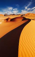 Photo sur Toile Desert de sable Sahara Desert, Algeria