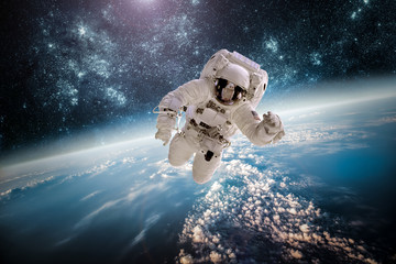 Fotorolgordijn Nasa Astronaut outer spac Elements of this image furnished by NASA.