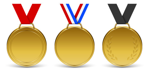 Médailles vectorielles 2