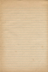 Old Notebook Paper Texture