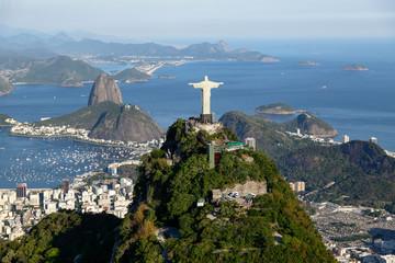 Photo sur Plexiglas Rio de Janeiro Rio de janeiro - Corcovado
