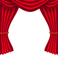 curtain vector background.