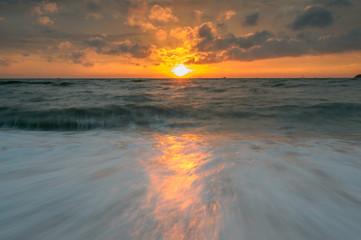 Seascape At Sapanhin Phuket Province