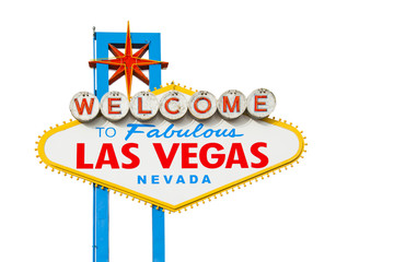 Keuken foto achterwand Las Vegas Welcome to Las Vegas Sign