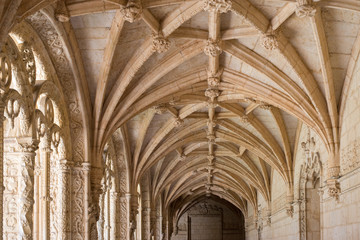 Ribbed vault of the Jerónimos Monastery