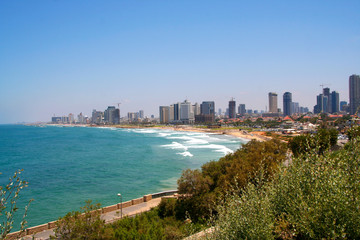 Tel Aviv seashore