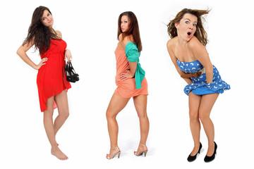 junge hübsche Damen