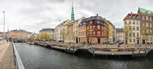 Old Town of Copenhagen landscape, Denmark.