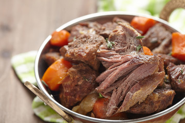 Homemade Irish Beef Stew with Carrots