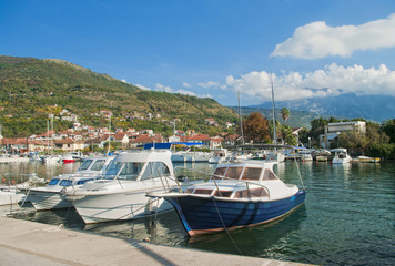 view of marina