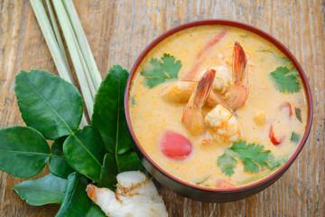Tom yum soup, Thailande