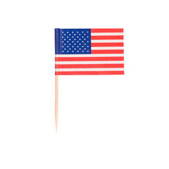 Toothpick Flag USA