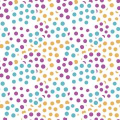 seamless pattern colorful dot