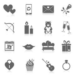 Romantic Icon Set