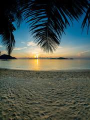Beautiful sunrise in Rawai Phuket