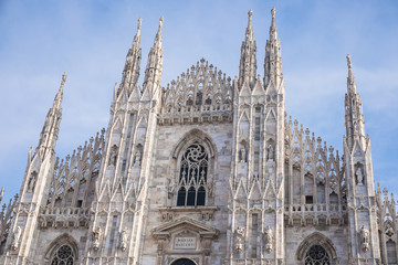 Milan Cathedral (Duomo di Milano), the gothic cathedral church
