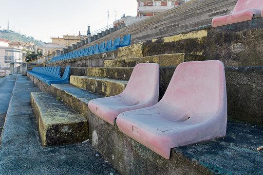 Salerno - Stadio Vestuti - Vista Campo e Gradinate