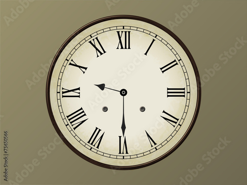 Horloge 9h30