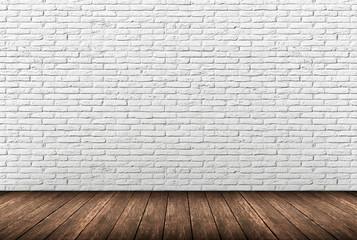 muro mattoni bianchi Fototapete