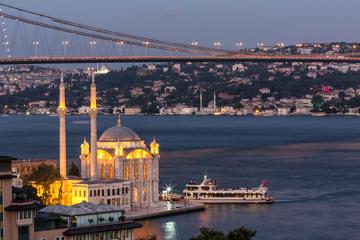 Ortakoy Mosque City of Istanbul, Turkey