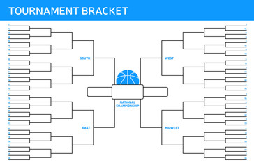 Basketball Tournament Bracket