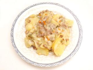 Kartoffelauflauf mit Hackfleisch