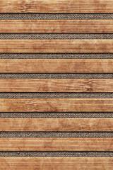 Bamboo Place Mat Bleached Mottled Grunge Texture On Linen Canvas