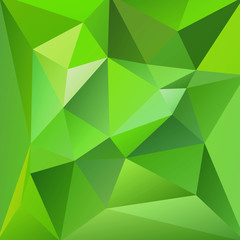 Abstract Green Triangle Background, Vector Illustration EPS10, C