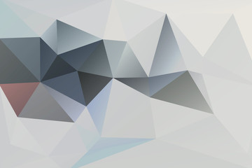 Abstract vector background of grey triangles