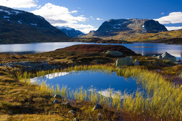 landscape of Southern Vestlandet, Norway
