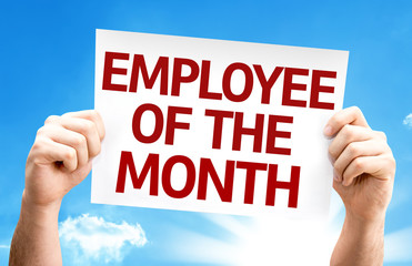 employee of the month banner