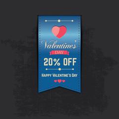 Valentine Sale Ribbon