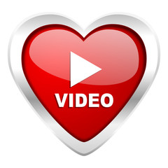 video valentine icon