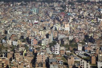 Kathmandu - general view of the city