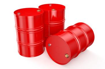 Barrels red