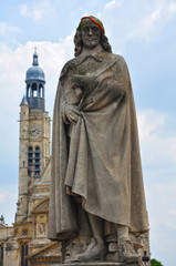 The statue in honour of Pierre Corneille, Paris, France