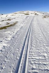 Piste de fond, ski nordique